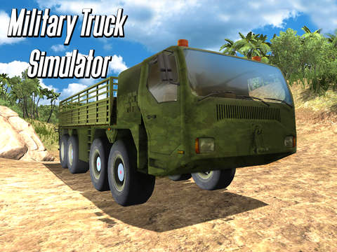 Army Truck Offroad Simulator 3D - Drive military truck! screenshot 7