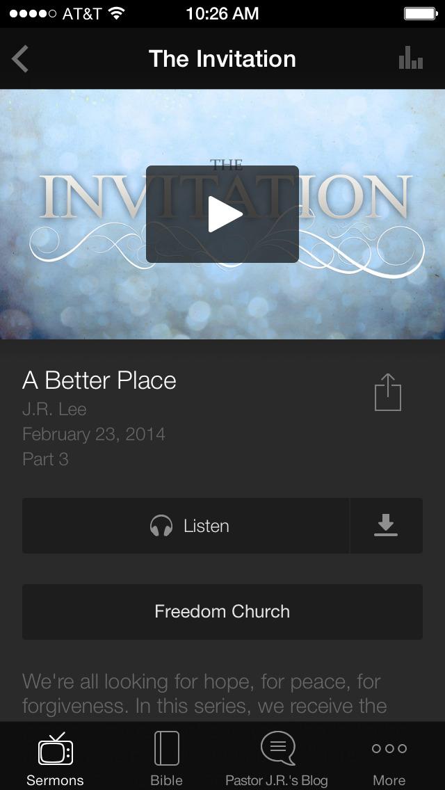 Freedom App screenshot 3