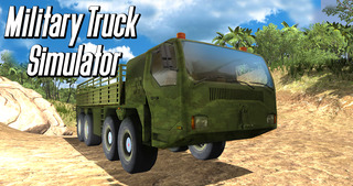 Army Truck Offroad Simulator 3D - Drive military truck! screenshot 4