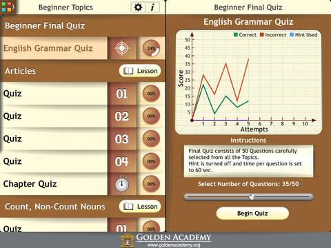 Grammar Expert : English Grammar Complete screenshot 8