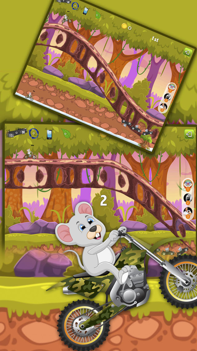 Jungle Race Fast and Fun And Hill Climber screenshot 2