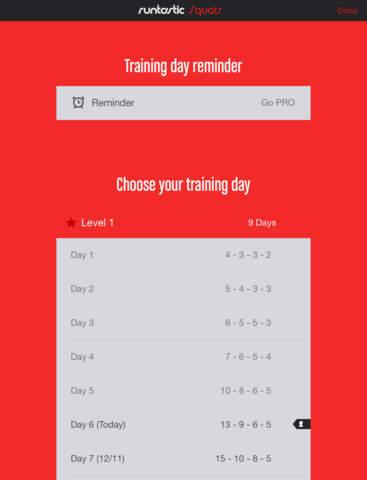 Squats Trainer & Workouts screenshot 10