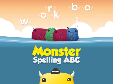 Preschool ABC Spelling Monsters: Phonic Sounds ABC Playtime