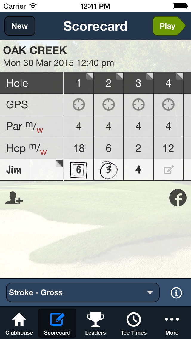 Oak Creek Golf Club screenshot 3