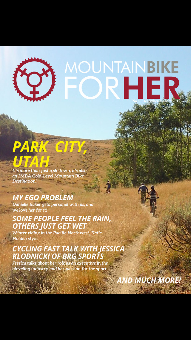 Mountain Bike for Her Magazine screenshot 1