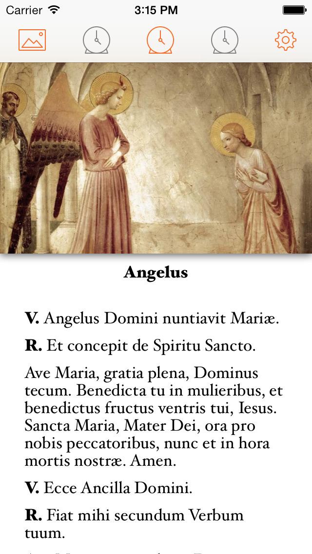Pocket Angelus & Regina Caeli screenshot 2