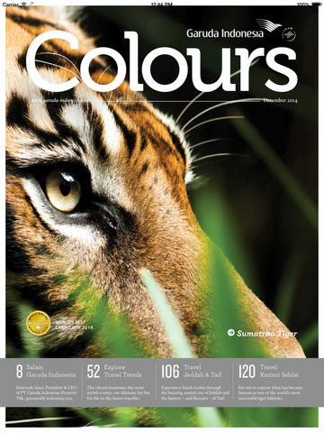 Colours Magazine screenshot 6