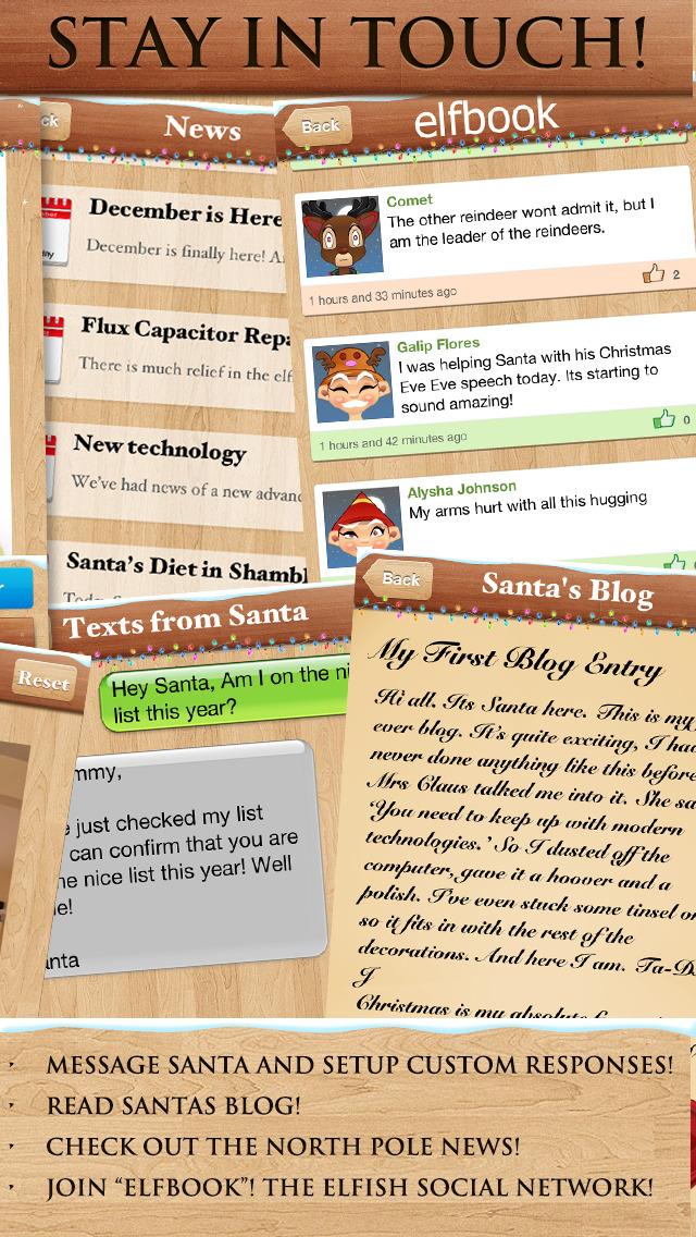 Santa Video Call & Tracker™ screenshot 5