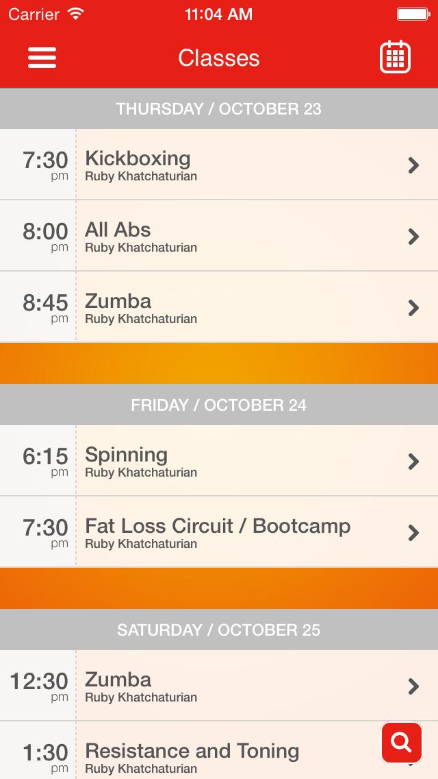 Ruby's Fast Fitness screenshot #3