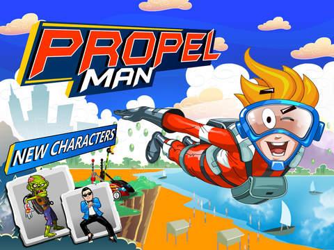 Propel Man screenshot #1