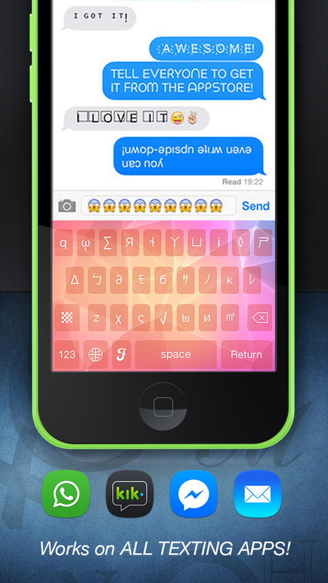 different fonts for iphone cool fonts ios 13985