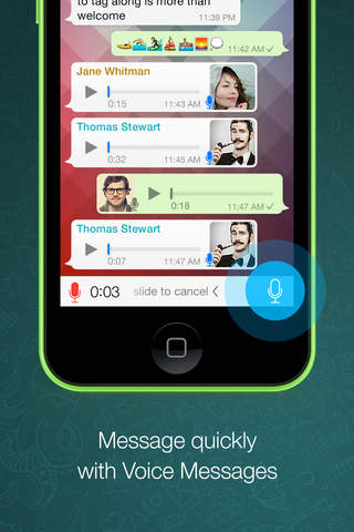 WhatsApp Messenger - náhled