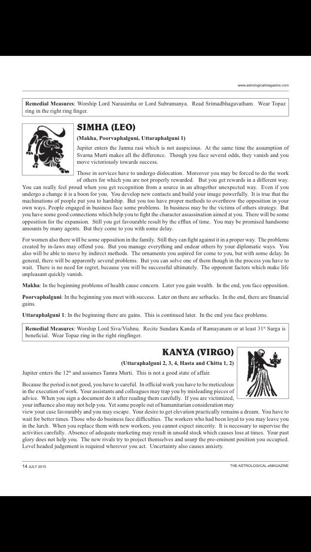 The Astrological eMagazine screenshot 4