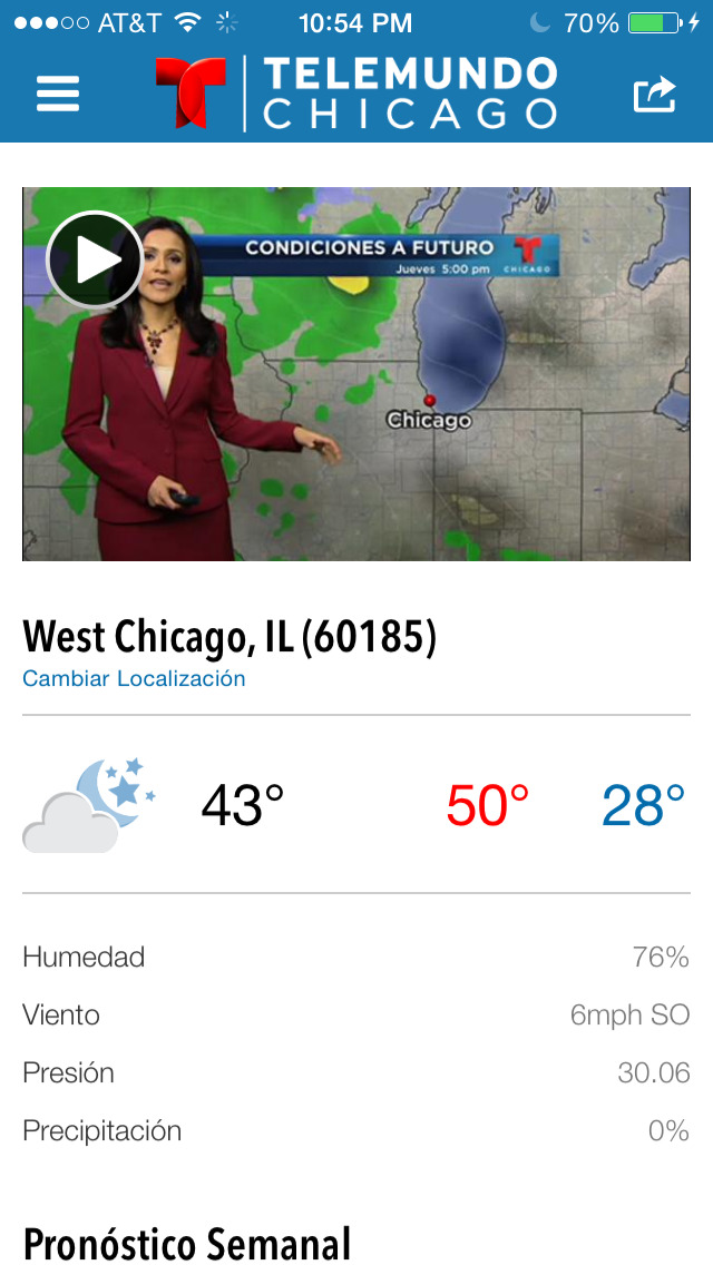 Telemundo Chicago screenshot 5
