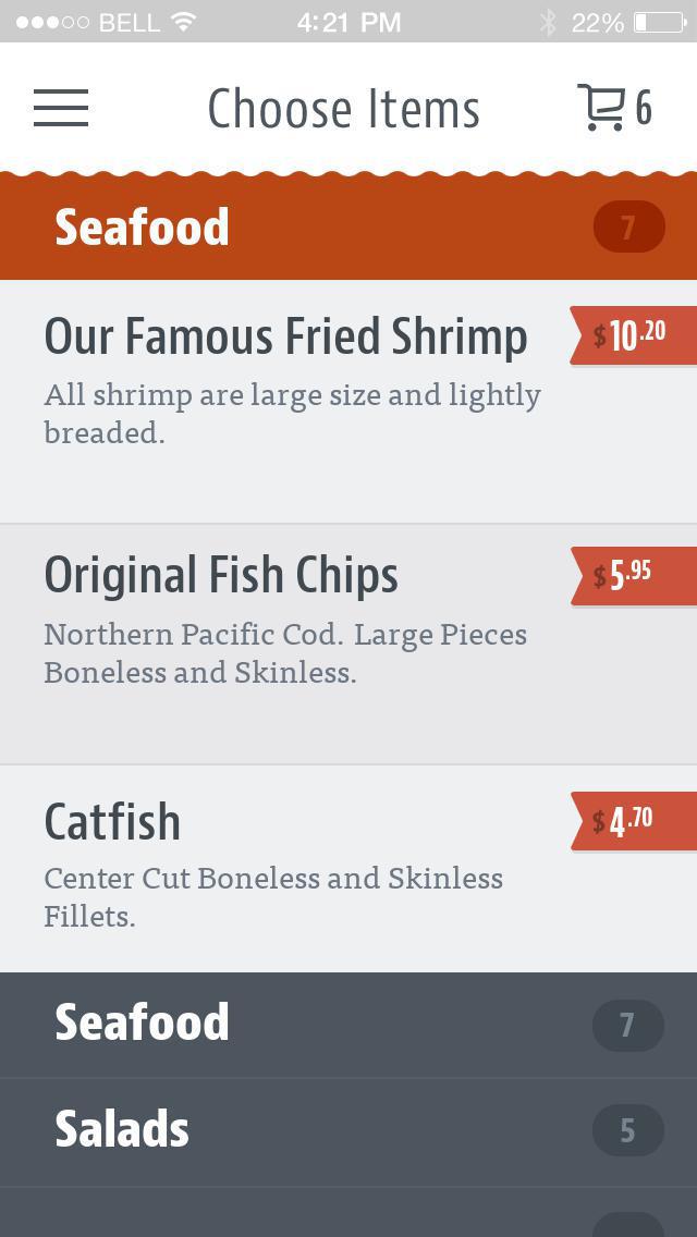Troha's Chicken & Shrimp screenshot 3
