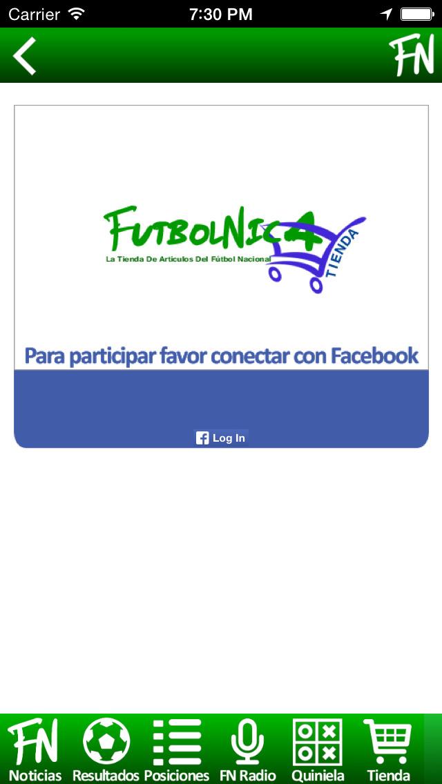 FutbolNica - fútbol Nicaragüense screenshot 5