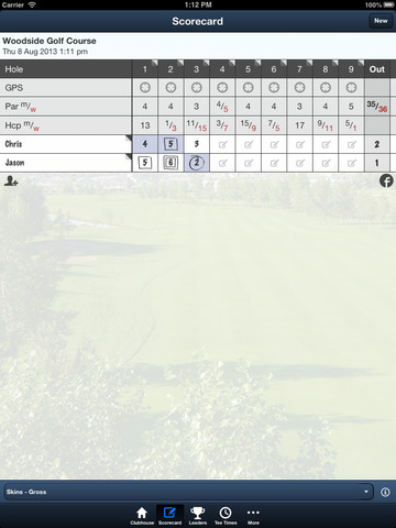 Woodside Golf Course screenshot 9