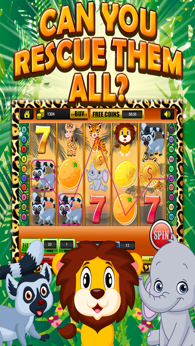 Ace Classic Vegas Baby Tiger Slots - Lucky Safari Gambling Casino Slot Machine Games HD screenshot 1