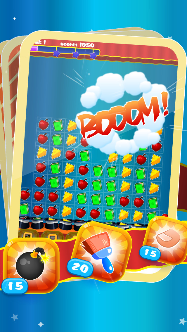 Magic Hat - Free Collapse Match-3 Puzzle Game screenshot 3
