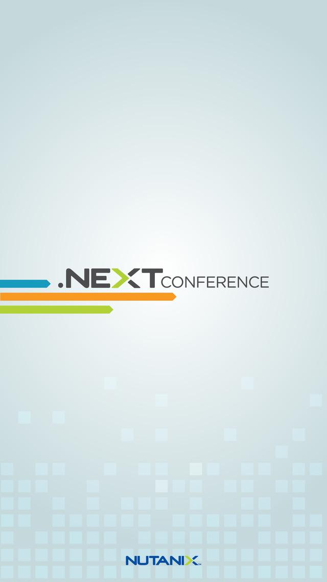 Nutanix .NEXT screenshot 1