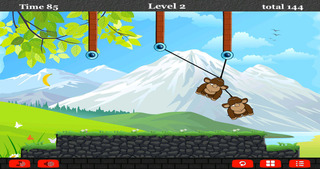 A Monkey Rope Animal Games For Pro screenshot 3