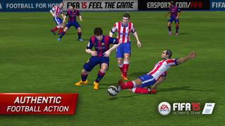 FIFA 15 Ultimate Team™ New Season screenshot 1