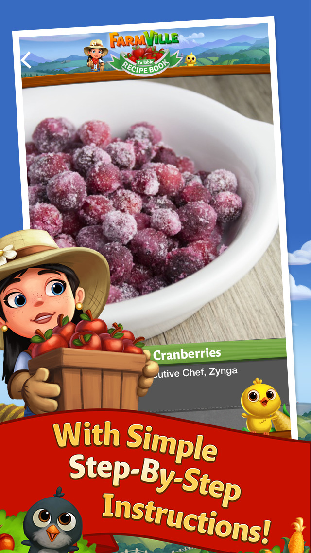 FarmVille to Table Recipe Book screenshot #5
