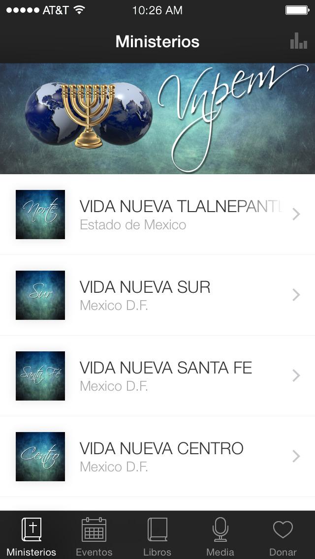 VIDA NUEVA PARA EL MUNDO screenshot 1