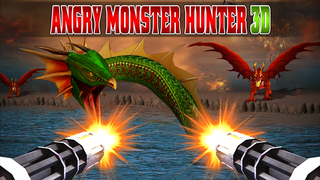 Angry Monster Hunter 3D screenshot 1