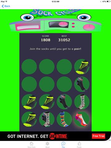 Sock Cycle Deluxe screenshot 1