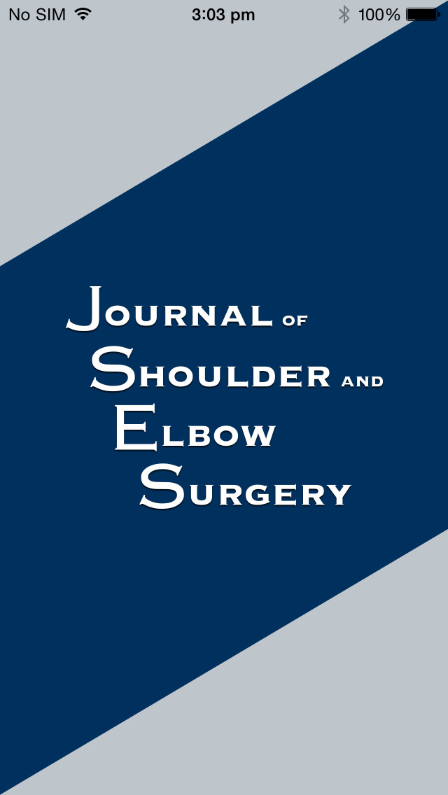 J Shoulder Elbow Surg (JSES) screenshot 1