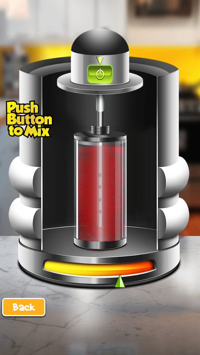 Flavored Slushie Drink Maker - cool kids smoothie drinking game screenshot 4