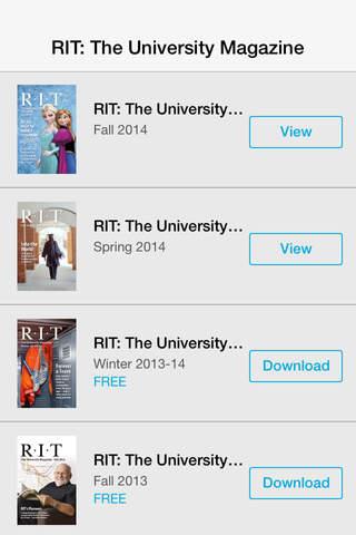 RIT: The University Magazine - náhled