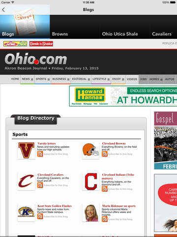 Ohio.com screenshot 10