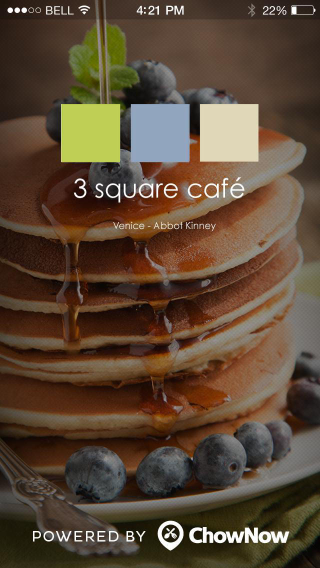 3 Square Cafe and Bakery screenshot 1
