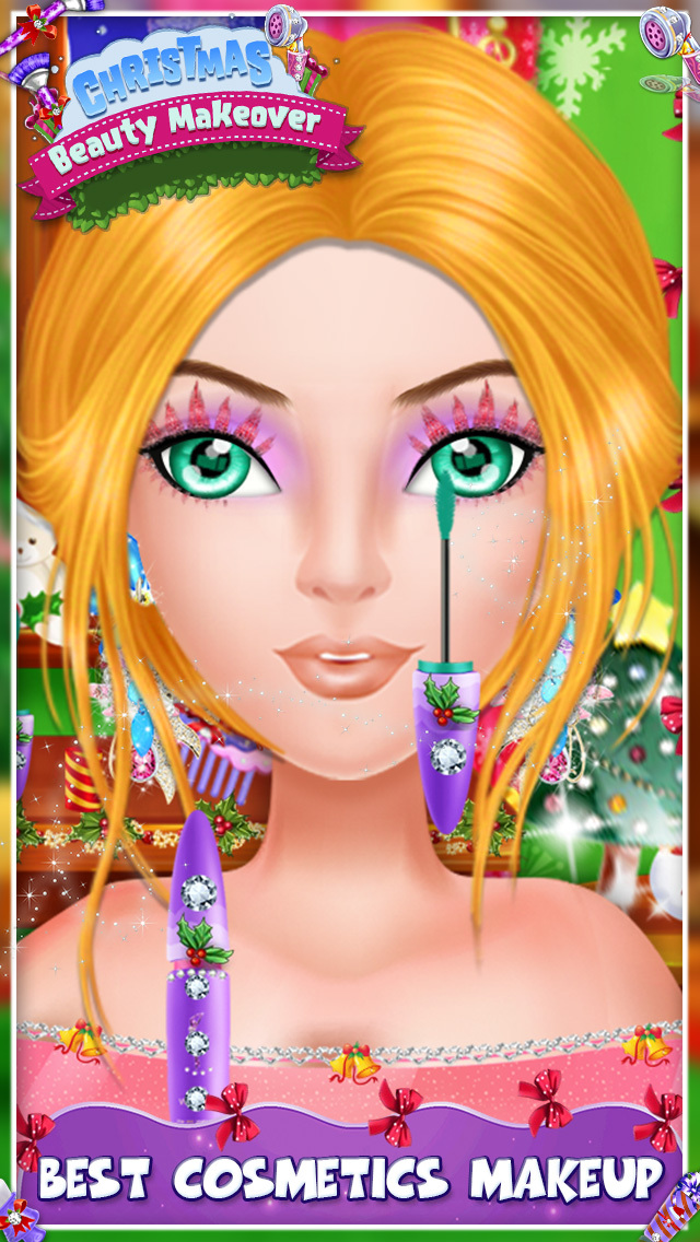 Christmas Beauty Makeover screenshot 2