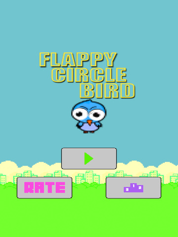 Flappy Circle Bird screenshot 5