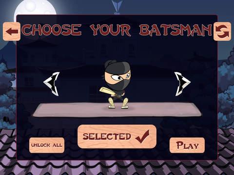 Amazing Ninja Cricket Blast - best bouncing ball batting game screenshot 5