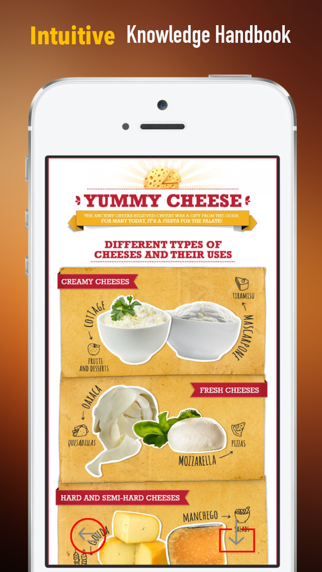 Cheese 101: Quick Study Reference with Video Lessons and Tasting Guide screenshot 1