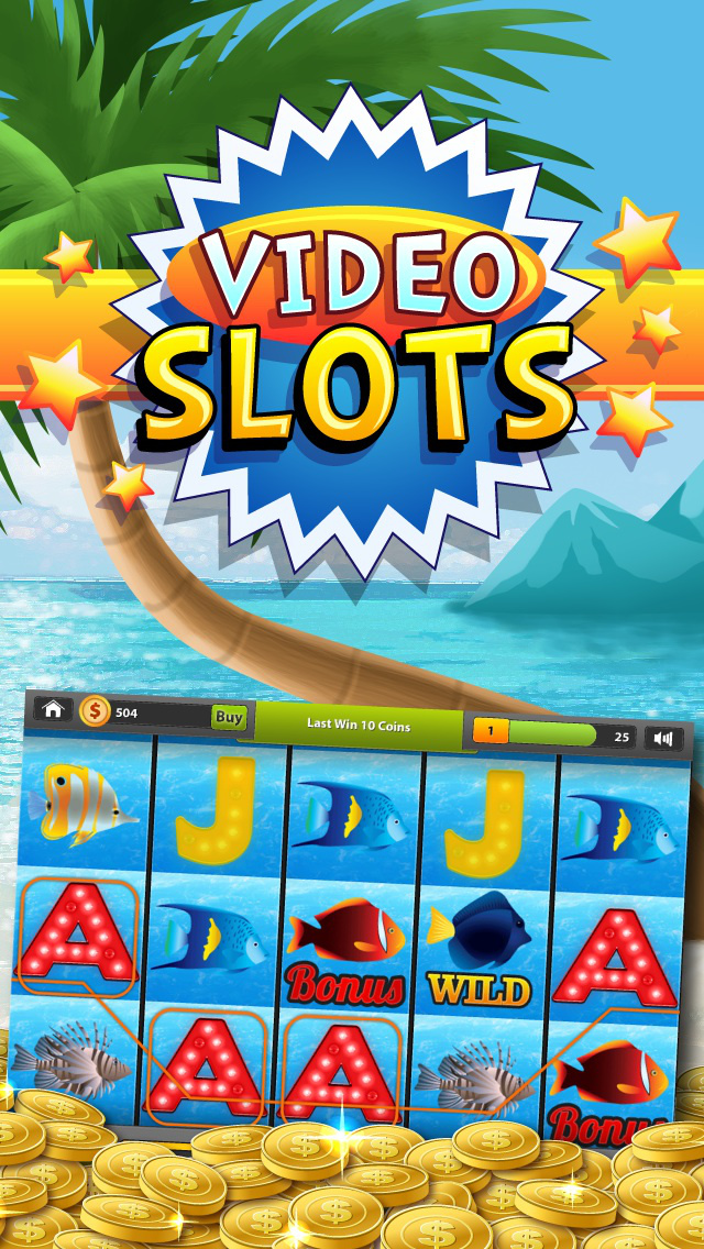 Beach Vacation Slots Fun Lucky Atlantic 777 Casino screenshot 4