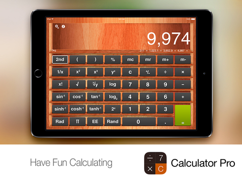 Calculator Pro+ for iPad screenshot 5
