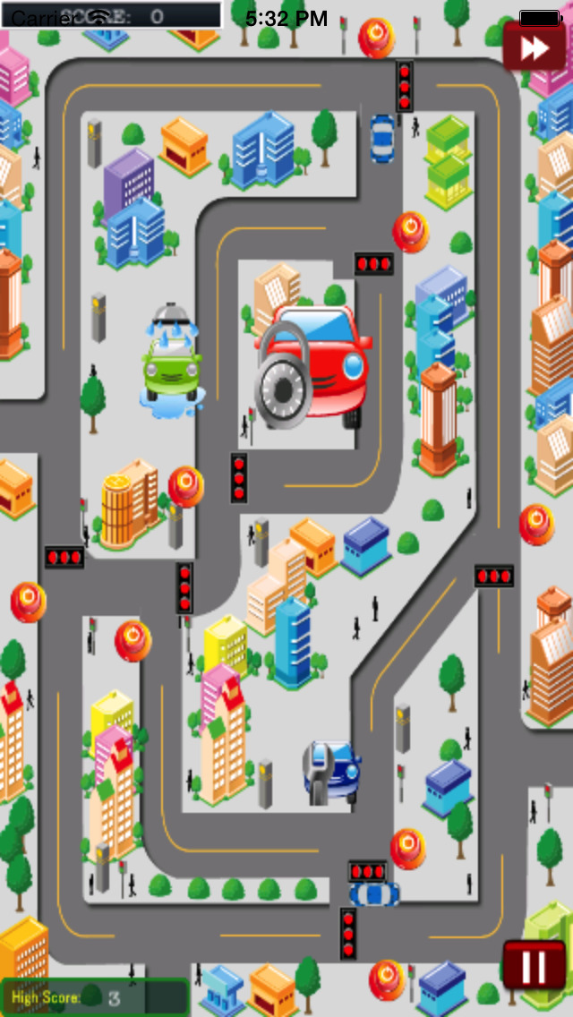 City Traffic Cars HD screenshot 3