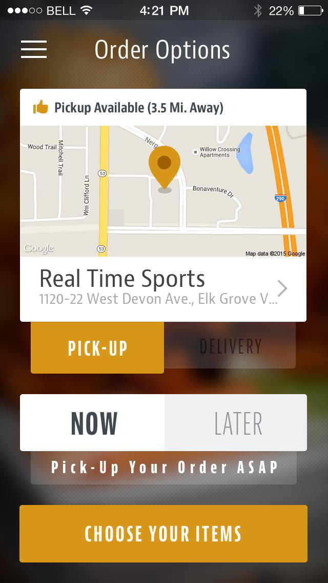 Real Time Sports Bar & Grill screenshot 2