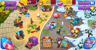 Farm Frenzy and Friends screenshot 2