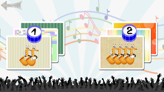 Free Memo Game Music Instruments Cartoon screenshot 2