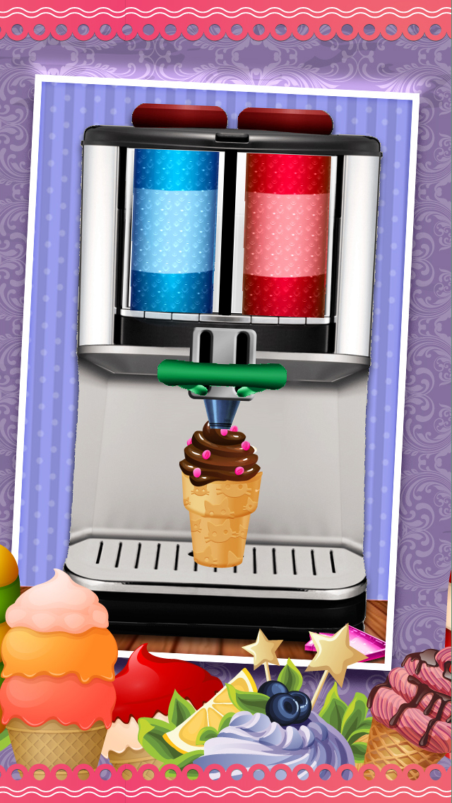 A All-in-1 Froyo Maker Ice Cream Parlor - Deluxe Yogurt Dessert Creator screenshot 2