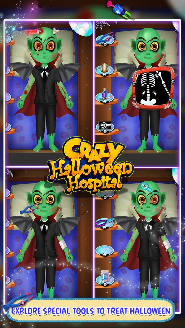 Crazy Halloween Hospital screenshot 1
