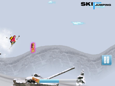RTL Freestyle Skiing screenshot 9