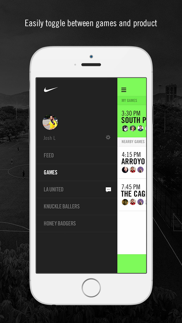 Nike Soccer – Train like a pro. Find Pickup games. Gear up. screenshot 3