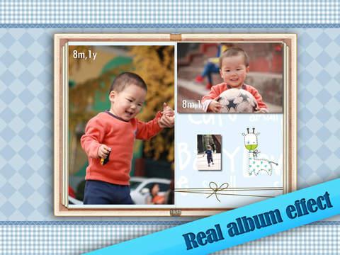 Baby Album Free for iPad screenshot 1